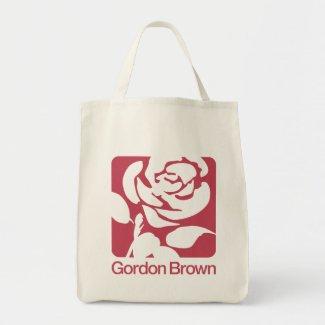 Gordon Brown for Prime Minister bag