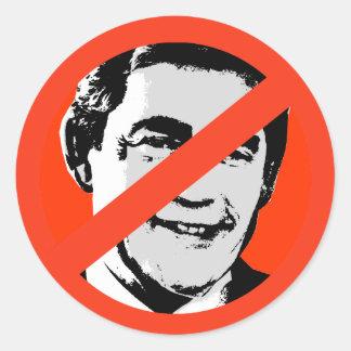 Gordon Brown Etiquetas Redondas