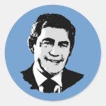 Gordon Brown Pegatina Redonda