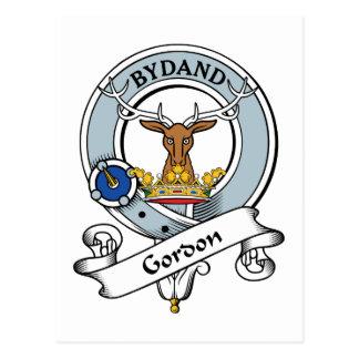 Gordon Clan Badge Postcard