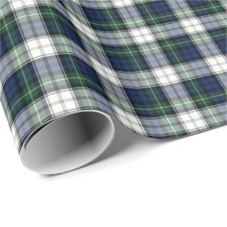 Gordon Clan Dress Tartan Wrapping Paper
