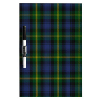 Gordon Clan Family Tartan Dry-Erase Board
