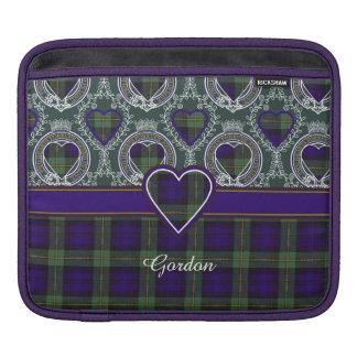 Gordon clan Plaid Scottish tartan Sleeve For iPads