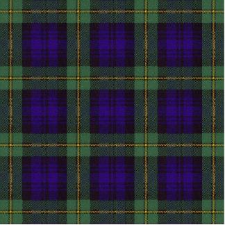 Gordon clan Plaid Scottish tartan Statuette