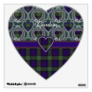 Gordon clan Plaid Scottish tartan Wall Sticker