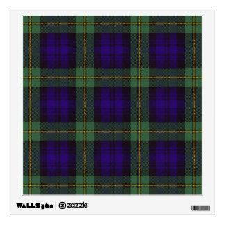 Gordon clan Plaid Scottish tartan Wall Sticker