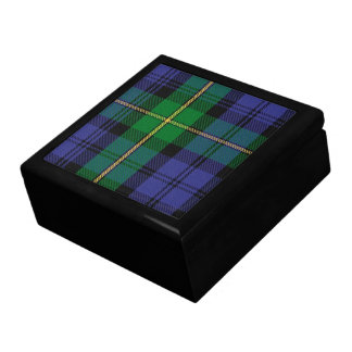 Gordon Clan Tartan Gift Box