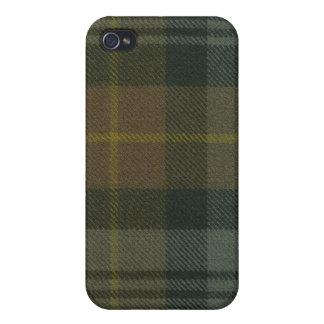 Gordon Clan Weathered Tartan iPhone 4 Case