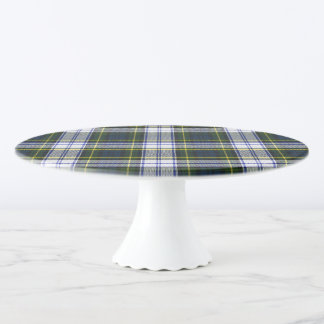 Gordon Dress Plaid Cake Plate