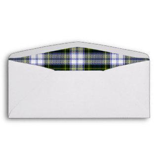 Gordon Dress Plaid Lined Custom Envelope