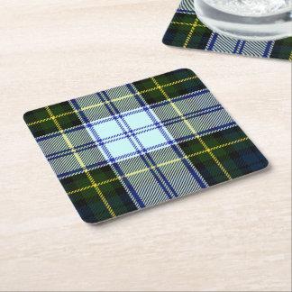 Gordon Dress Plaid Paper Coasters