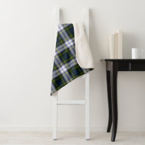 Gordon Dress Plaid Sherpa Blanket