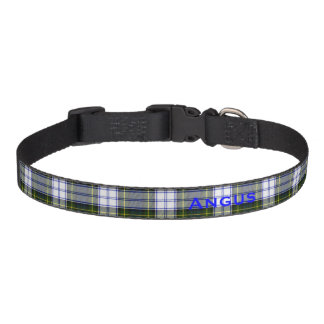 Gordon Dress Tartan Plaid Custom Dog Collar