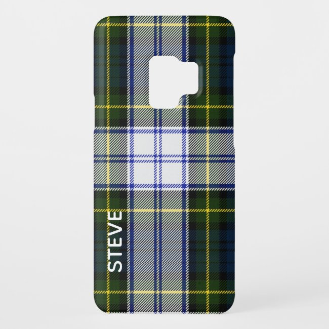 Gordon Dress Tartan Plaid Samsung Galaxy S9 Case