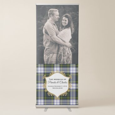 Bride Themed Gordon Dress Wedding Photo Retractable Banner
