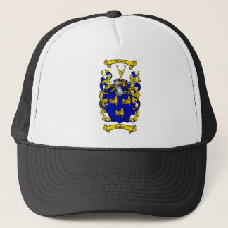 GORDON FAMILY CREST -  GORDON COAT OF ARMS TRUCKER HAT