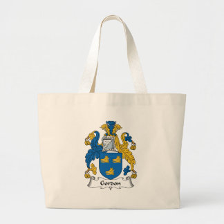 Gordon Family Crest Jumbo Tote Bag