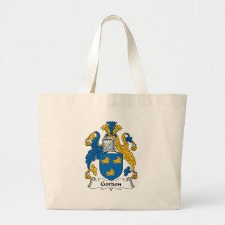 Gordon Family Crest Large Tote Bag