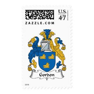 Gordon Family Crest Postage