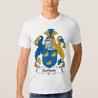 Gordon Family Crest Tshirts
