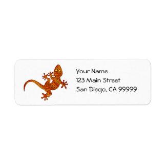Gordon Gecko Label