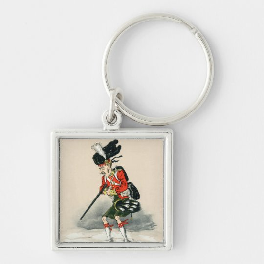 Gordon Highlander British Soldier Keychain