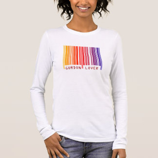 """""""GORDON LOVER"""" Colored Barcode T-Shirt"""