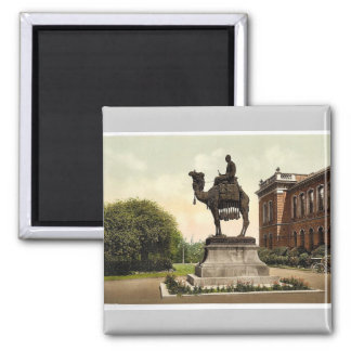 Gordon Memorial, New Brompton, England classic Pho 2 Inch Square Magnet