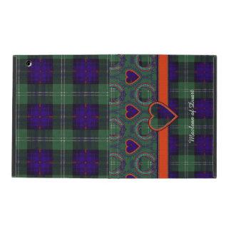 Gordon of Atholl clan Plaid Scottish kilt tartan iPad Folio Case