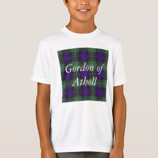 Gordon of Atholl clan Plaid Scottish kilt tartan T-Shirt