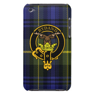 Gordon Scottish Crest and Tartan iPod Touch4 case