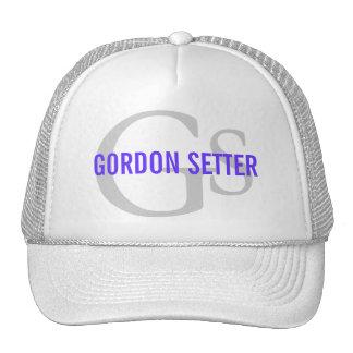 Gordon Setter Breed Monogram Trucker Hat