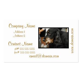Gordon Setter Business Cards
