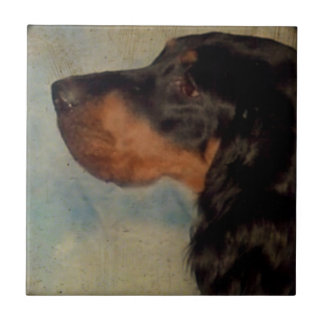 Gordon Setter Ceramic Tile