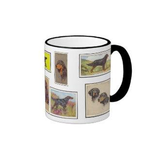 Gordon Setter Cigarette Cards Ceramic Mug