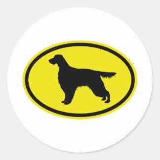 Gordon Setter Classic Round Sticker