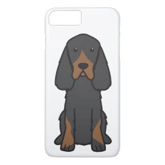 Gordon Setter Dog Cartoon iPhone 8 Plus/7 Plus Case