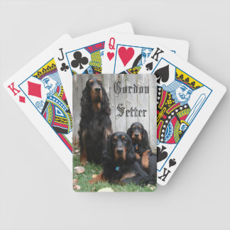 Gordon Setter Generations Playing Cards