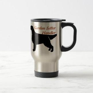 Gordon Setter Handler Aluminum Travel Mug