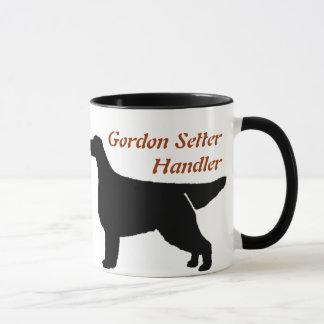 Gordon Setter Handler Ceramic Mug