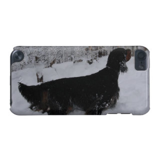 Gordon Setter in a Snowstorm iPod Touch iPod Touch (5th Generation) Cover