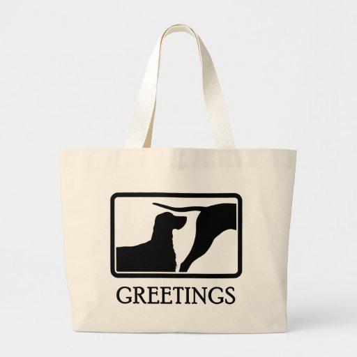 Gordon Setter Jumbo Tote Bag