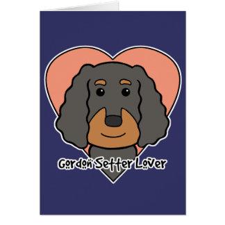 Gordon Setter Lover Card