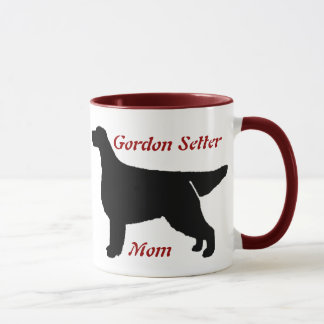 Gordon Setter Mom Ceramic Mug