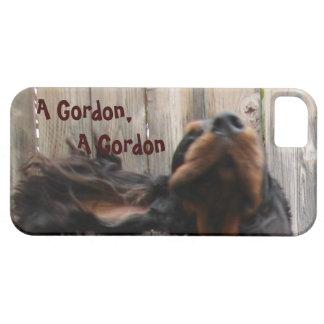 Gordon Setter Painting iPhone 5 Case