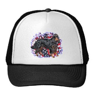 Gordon Setter Patriot Trucker Hat