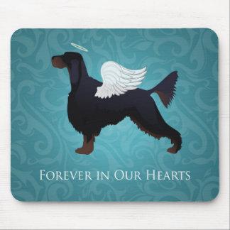 Gordon Setter Pet Memorial Dog Angel Mouse Pad