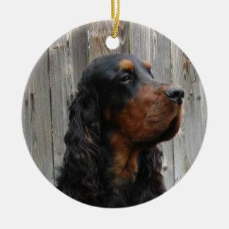 Gordon Setter Photo Ornament