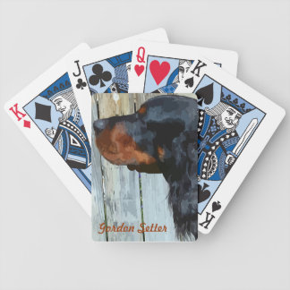 Gordon Setter Playing Cards