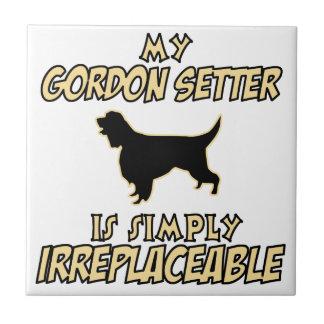 Gordon Setter.png Ceramic Tile